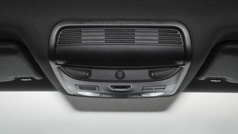 Visualizzazione del monitoraggio dell'abitacolo di VW Scirocco