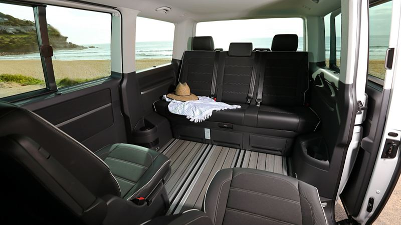 Inside the Volkswagen Multivan