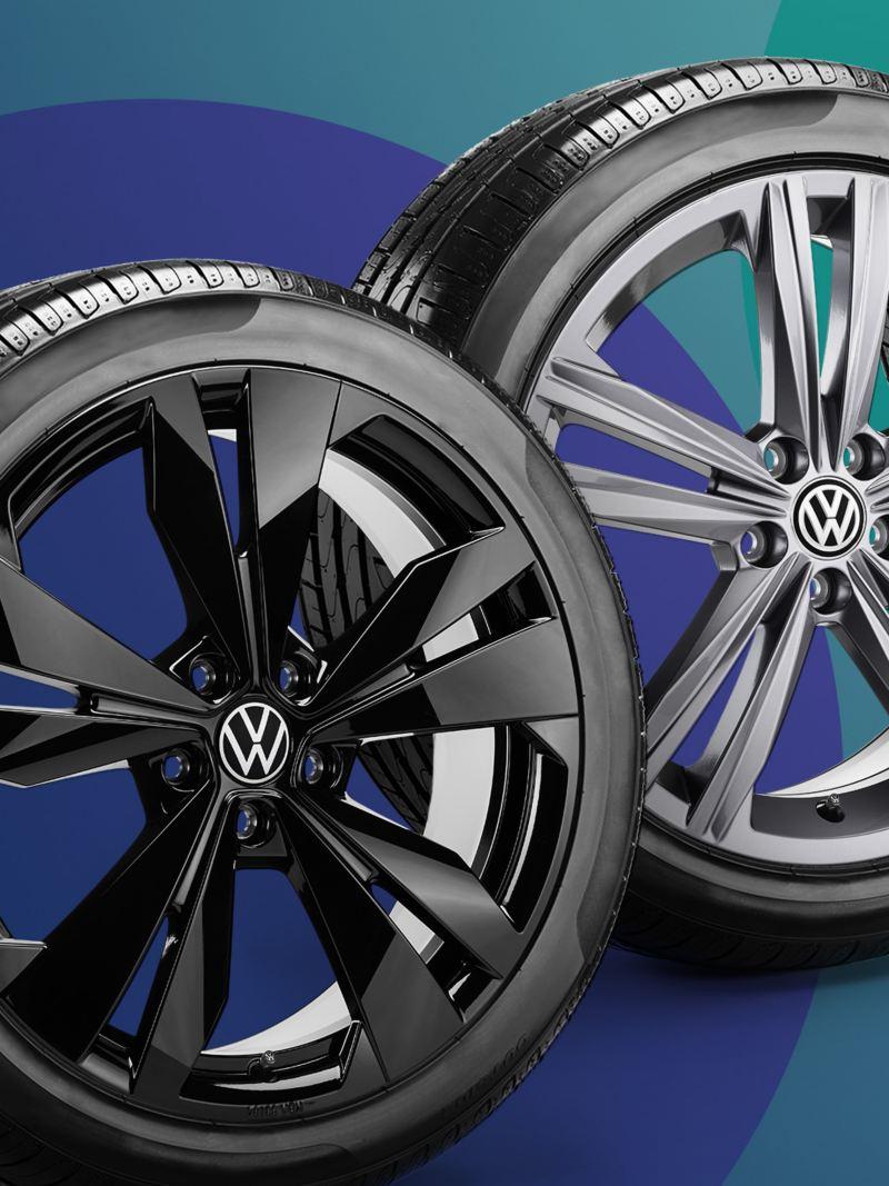 Promo cerchi in lega Volkswagen.