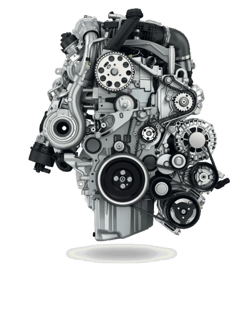 Wir sehen einen Motor im Detail.