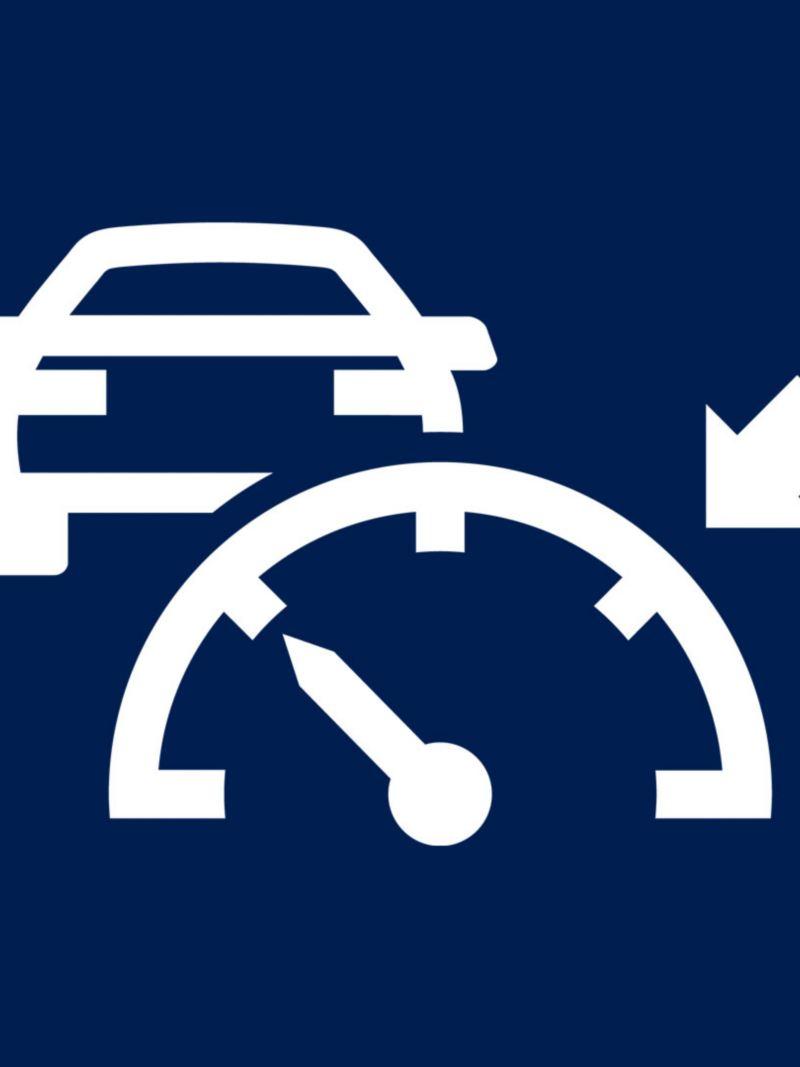 Icona regolatore di velocità con limitatore Volkswagen Transporter