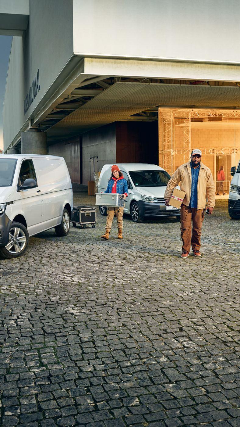 vw volkswagen varebil varebiler personbiler store familiebiler Transporter Caddy Crafter Amarok Caravelle Multivan