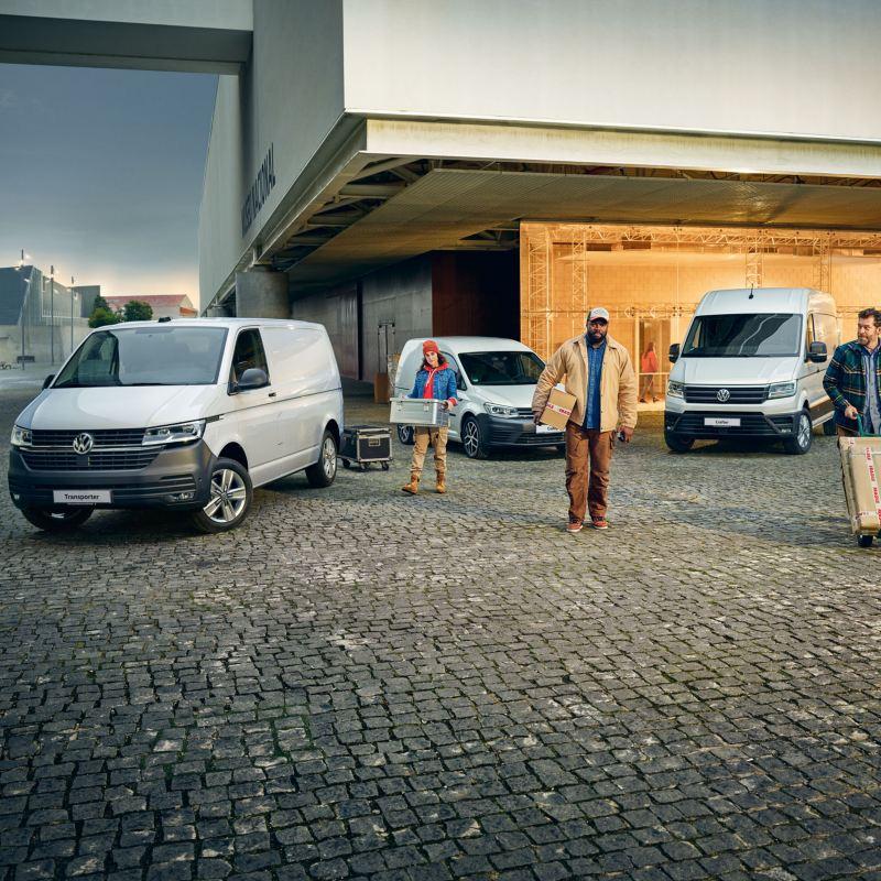 vw Volkswagen varebiler kampanje kampanjer tilbud rabatt Transporter 6.1 Crafter Caddy Amarok rentetilbud