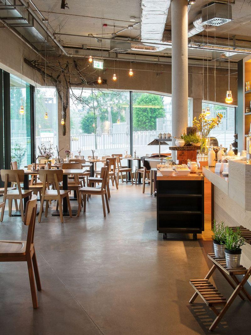 Bæredygtig hotelrestaurant