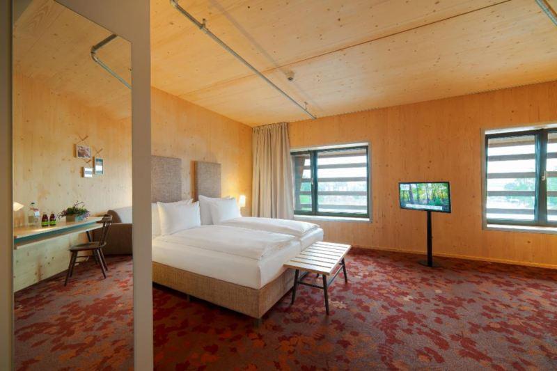 Hotelværelser af træ for miljøvenlig turisme