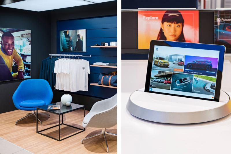 Neue Elemente im Autohaus: Turntables und Lounge-Atmosphäre
