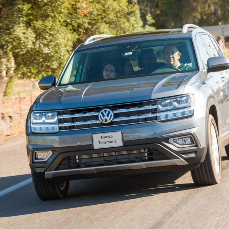 Nuevo Teramont 2019, la camioneta SUV de Volkswagen México sobre eje vial