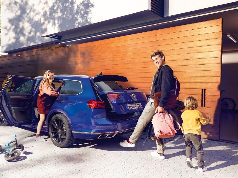 Volkswagen passat easy open bagasjerom åpner