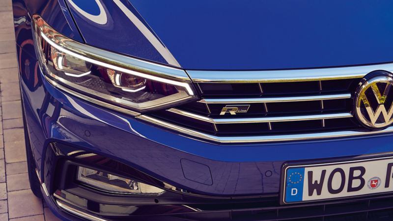 Passat IQ.LIGHT - LED matrix headlight R-Line