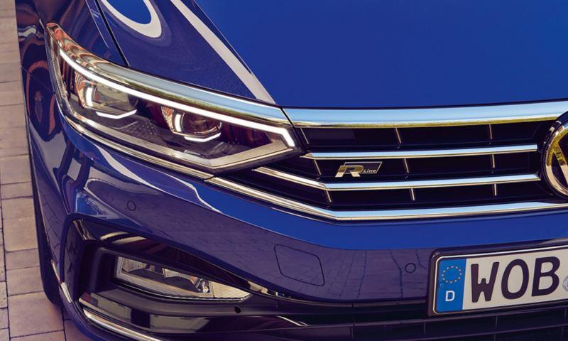 frontale Volkswagen Passat Variant, fari a LED Matrix - IQ.LIGHT pacchetto R-Line