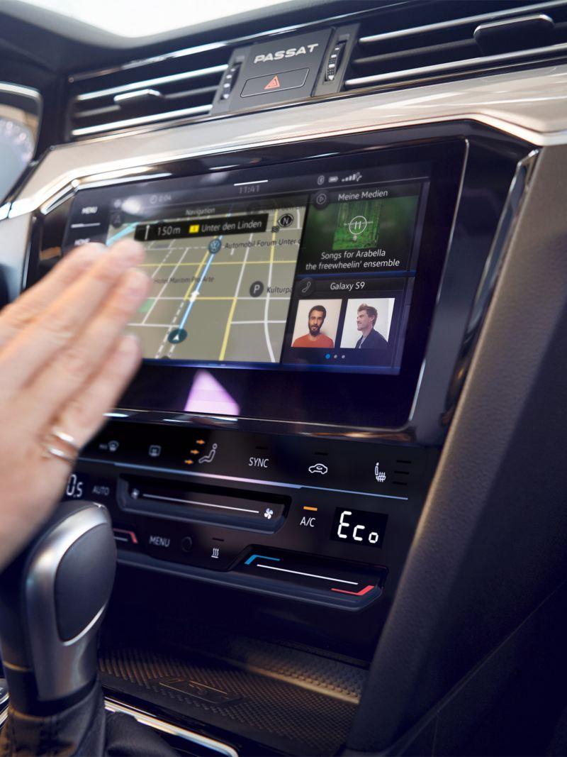 Tråløs mobil lading Passat GTE