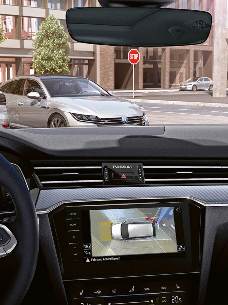 Area View Volkswagen Passat Sportscombi