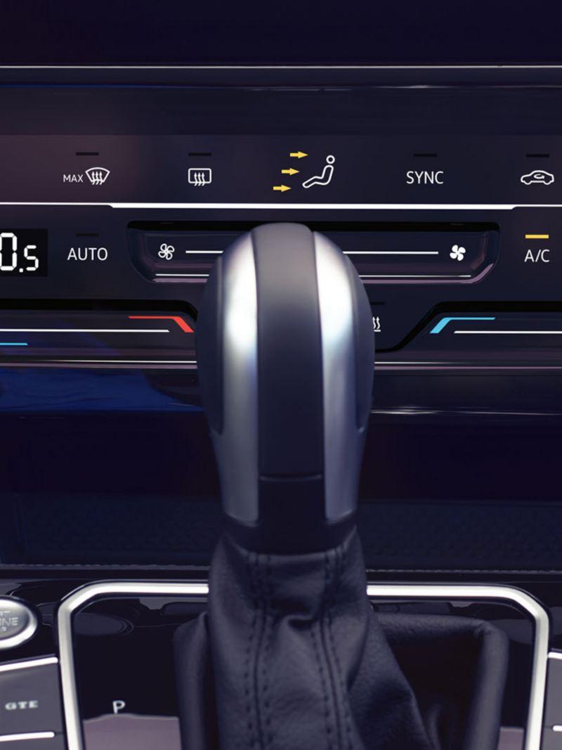 """Νέο Volkswagen Passat Σύστημα κλιματισμού 2 ζωνών """"Air Care Climatronic"""""""