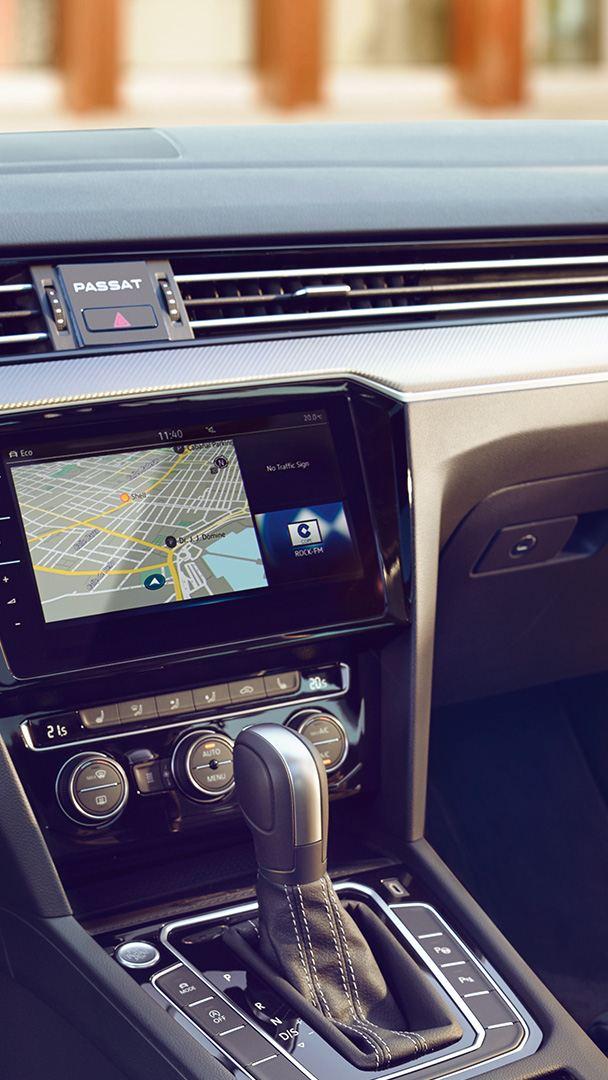 GPS dans une Passat