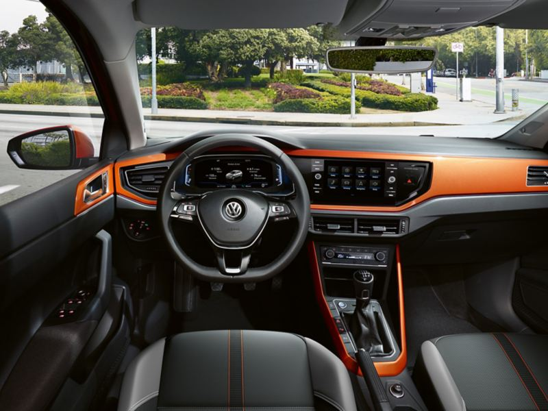 Polo Interieur Dekor Energetic Orange