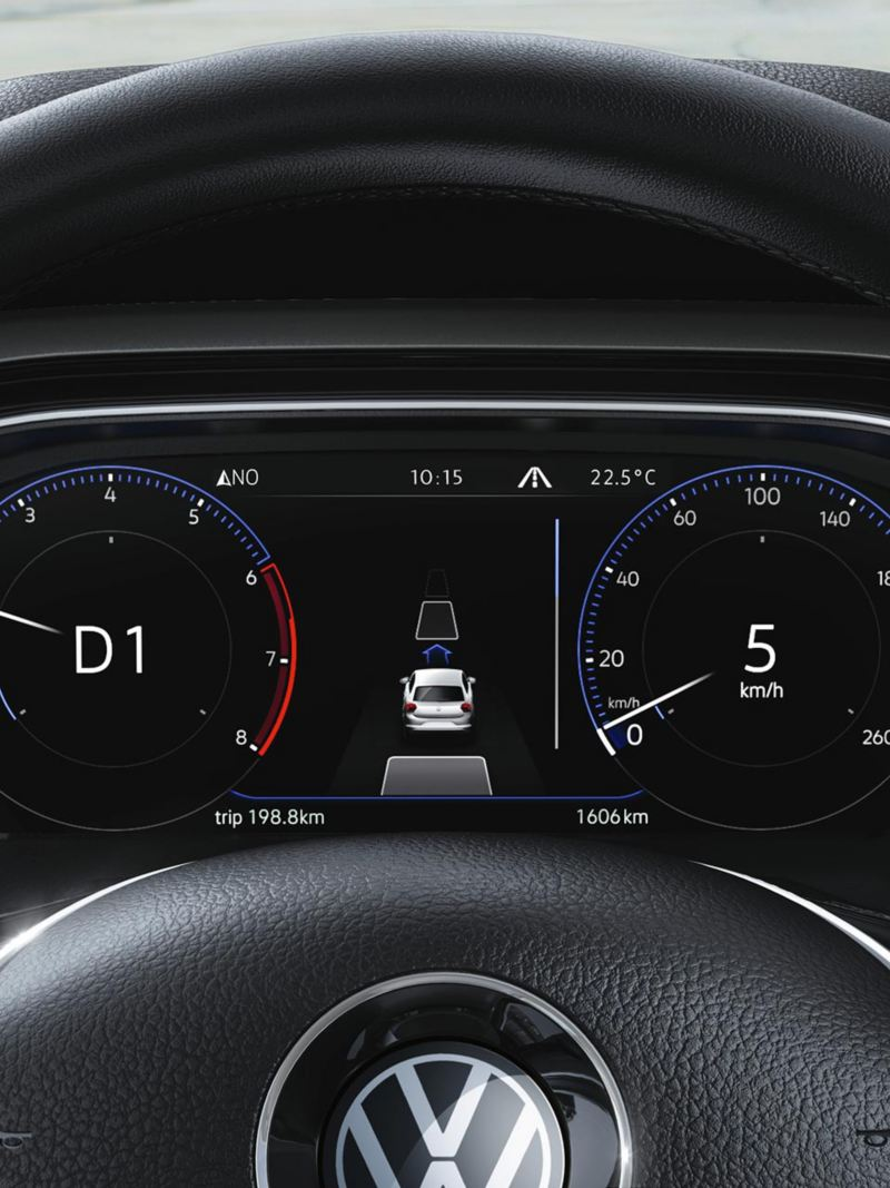 Polo Active Info Display with Speed display