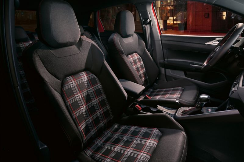 Polo GTI interior seats