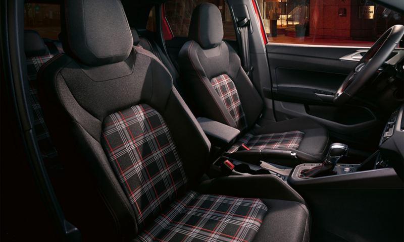 Polo GTI interior seats
