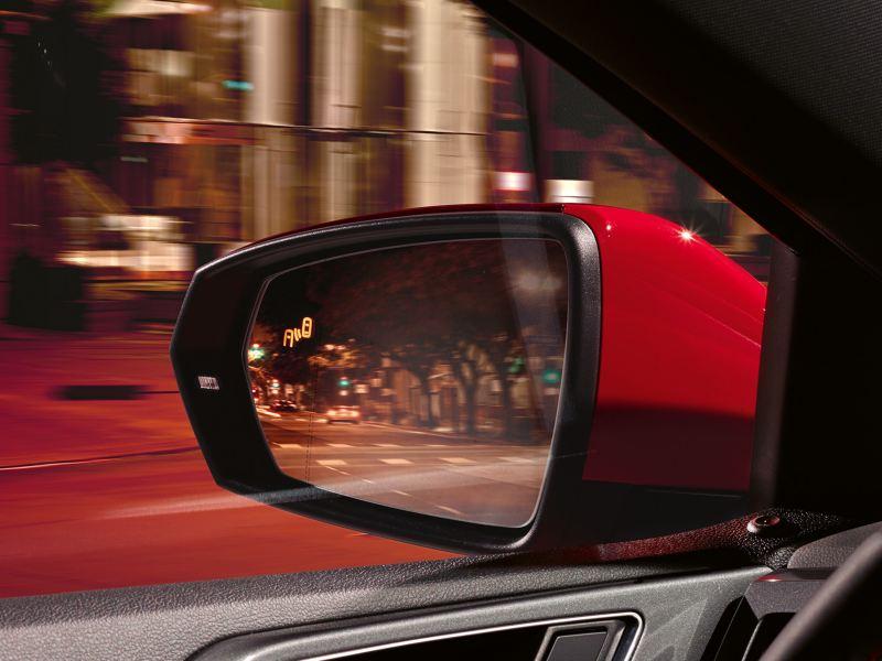 Polo GTI, sensore Blind Spot