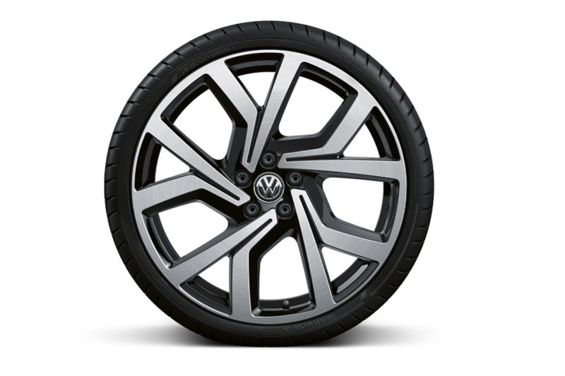 Polo GTI obręcz ze stopu metali lekkich Brecia