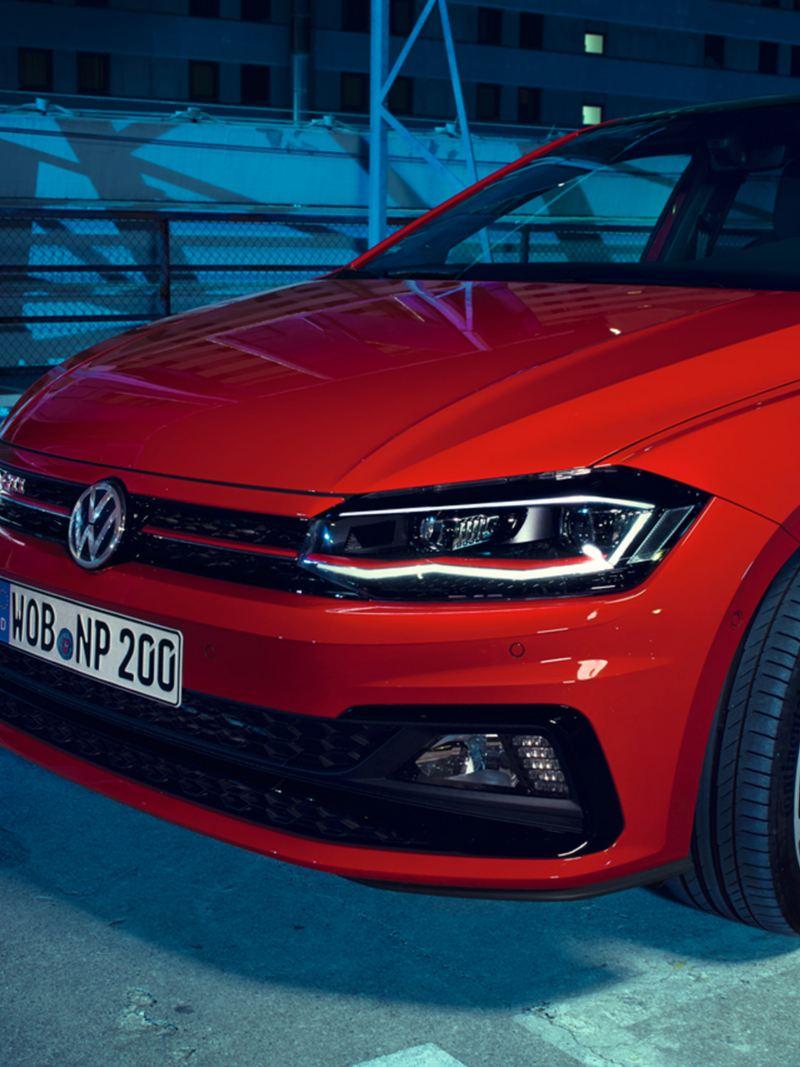 Frontale Volkswagen Polo GTI