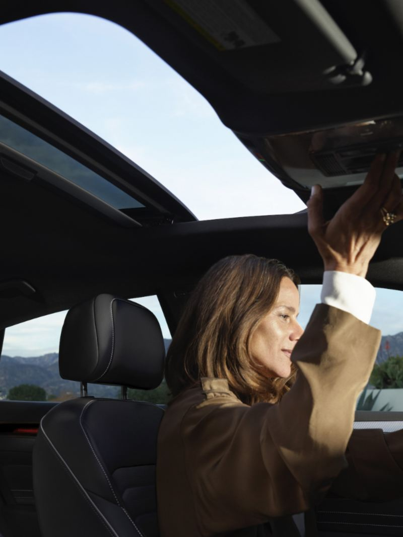 The Panoramic sunroof in the Arteon