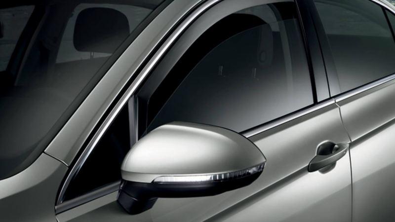 Volkswagen Genuine Door draught deflector Front