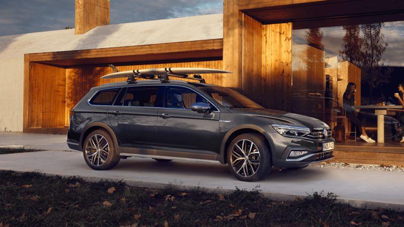 VW Volkswagen Passat Alltrack firehjulstrekk sett fra siden