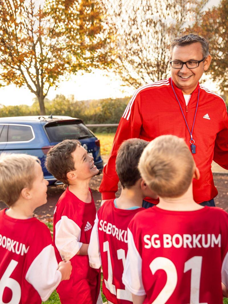 Mit Papa zum Kicken – Familienväter als neue Fußballhelden
