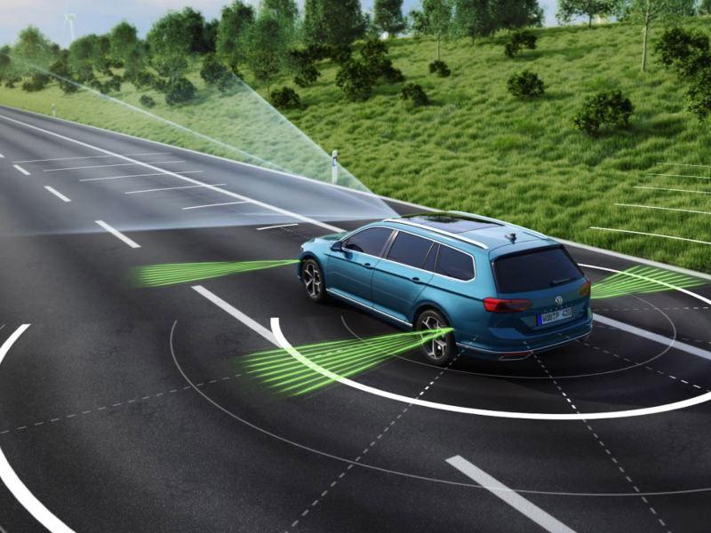 Volkswagen förarassistanssystem