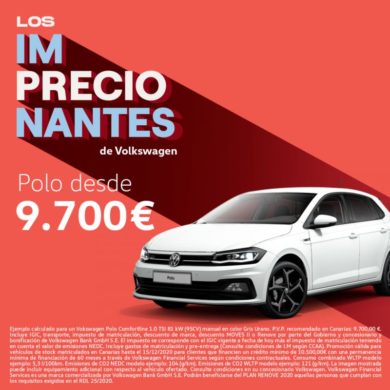 Polo precio imprecionatne VW