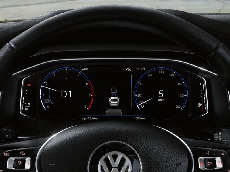 Vehicle data in Active Info Display