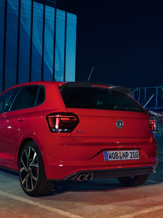 Polo GTI rear view