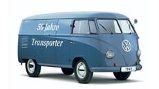 Begin productie Volkswagen T1