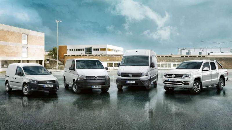 Visuel de la gamme Volkswagen Véhicules Utilitaires