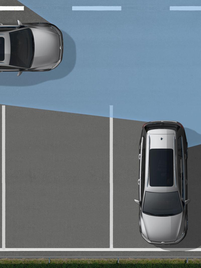 RTA 後方橫向車流警示系統 (含煞車輔助功能)