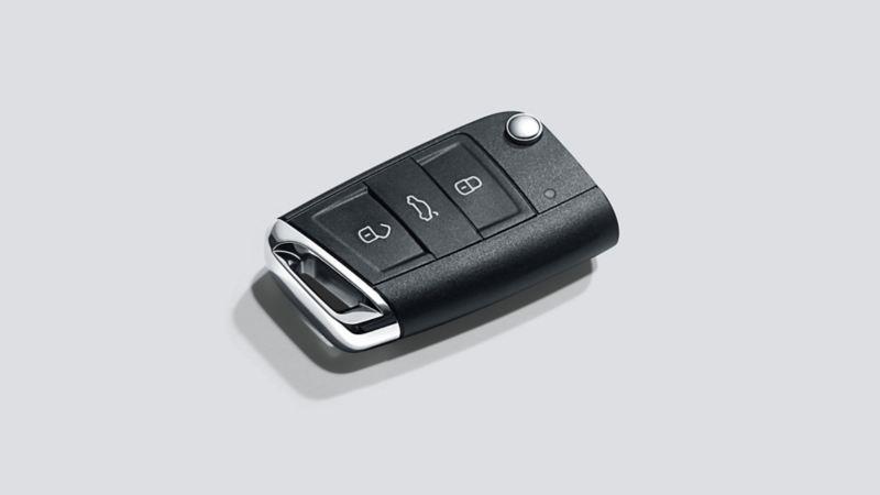Immagine della chiave con radiocomando di una Volkswagen