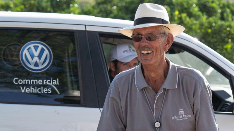 Rallylegenden och sydafrikanen Sarel van der Merwe