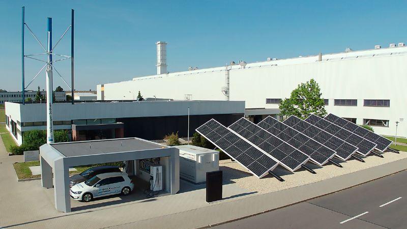 Volkswagen Werk Zwickau als Vorreiter bei der Elektromobilität