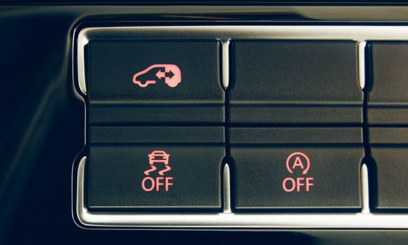 Przycisk obsługi rozsuwanych elektrycznie drzwi