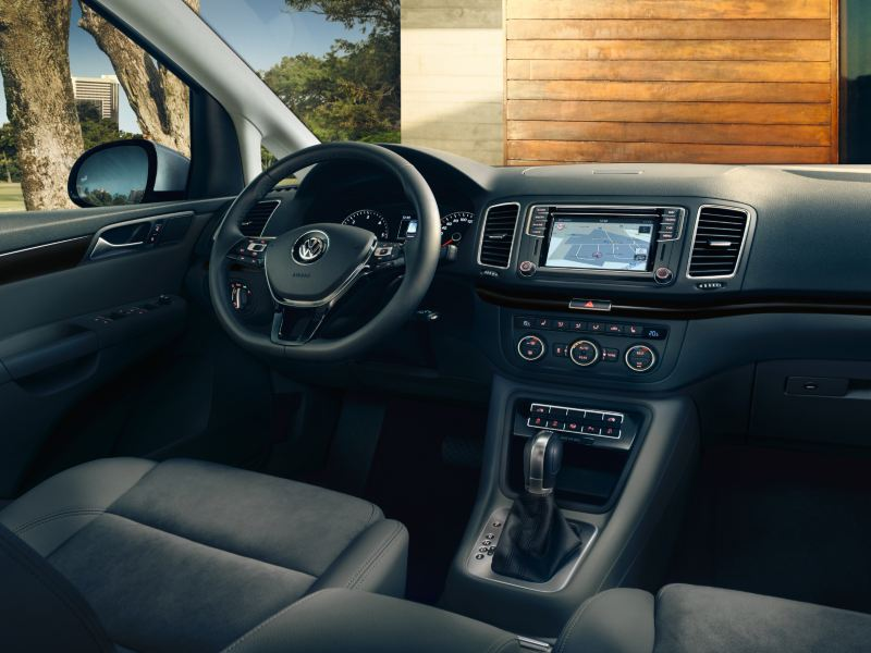 Interno Sharan Volkswagen