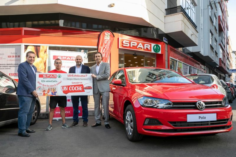 SPAR regala un Volkswagen Polo