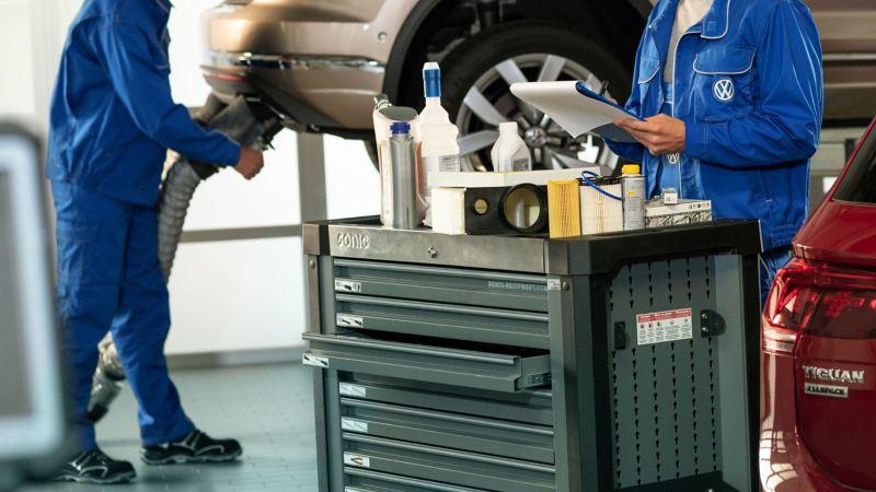 Ispezione veicolo Volkswagen