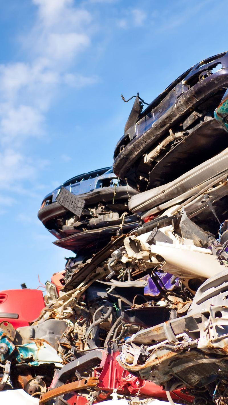 Recycling samochodów - stage