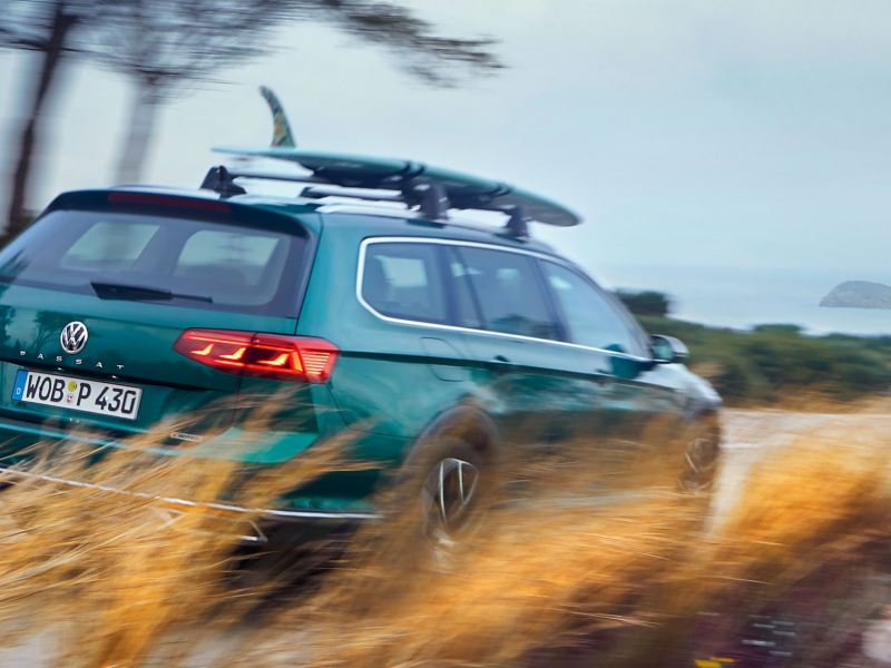 Volkswagen sur la route