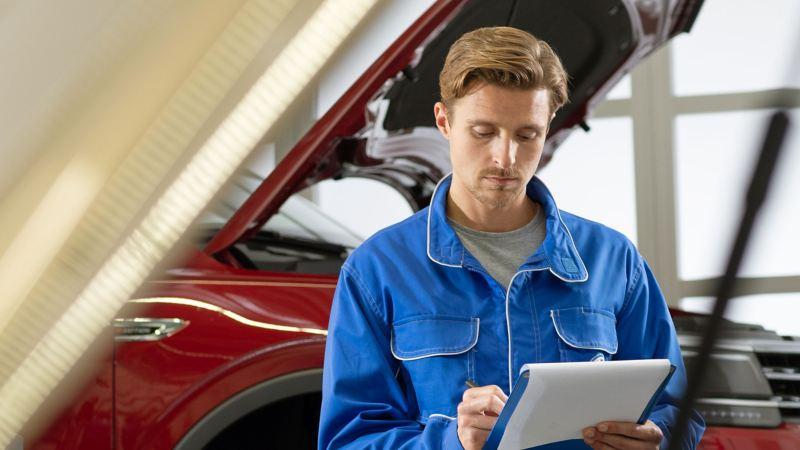 Addetto al service Volkswagen