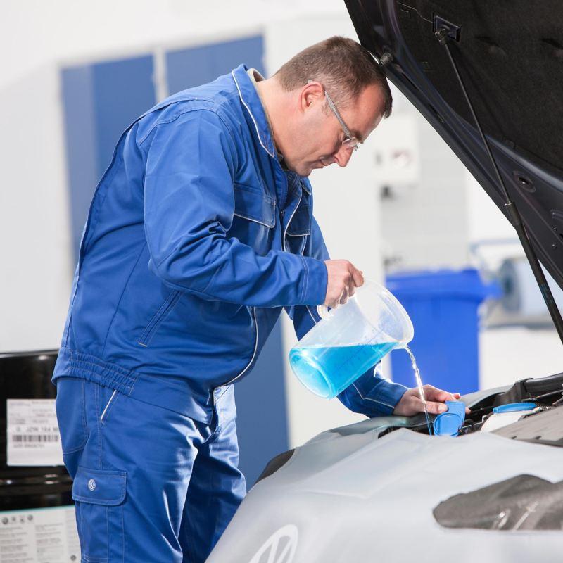 Rabbocco liquido lavavetri Volkswagen Service