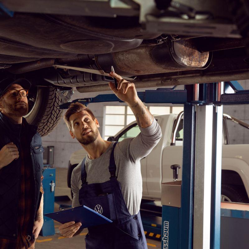 Entretien d'un utilitaire Volkswagen chez un Réparateur Agréé Volkswagen Vehicules Utilitaires