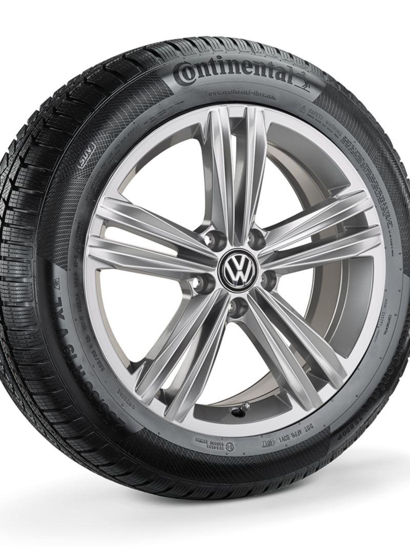 18 tommers Sebring grå metallic lettmetallfelger til Volkswagen Tiguan SUV