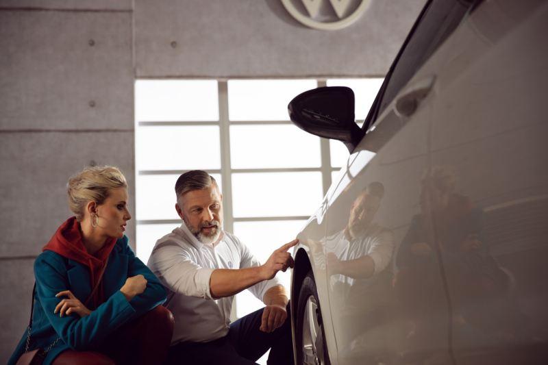 Volkswagen 車體與漆面